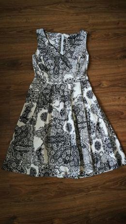 Piękna,NOWA letnia sukienka na wesele, chrzciny, komunię,kwiaty Orsay