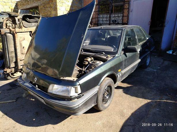 б.у запчасти Renault 21 седан 1.7i двигатель коробка 90г