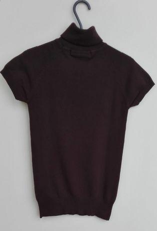 Blusa malha gola alta Zara - Tam. M