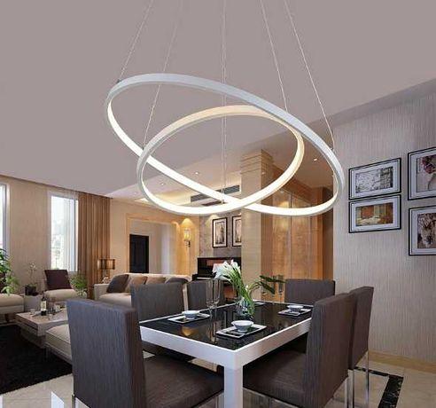 NOWA Lampa wisząca ring okrąg 20+40cm