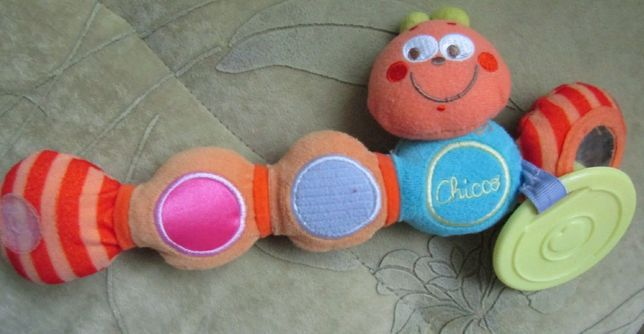 Подвесная игрушка Chicco гусеница