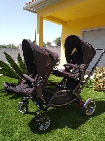 Carrinho de bebé ABC Design Zoom Gêmeos