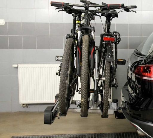 Wynajem bagażnik rowerowy na hak 3 rowery