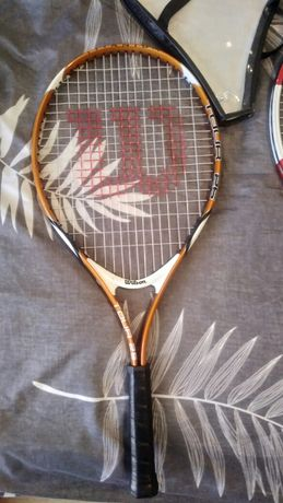 Rakieta tenisowa Wilson Tour 25 juniorska Idealny stan