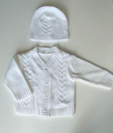 Sweterek + czapeczka