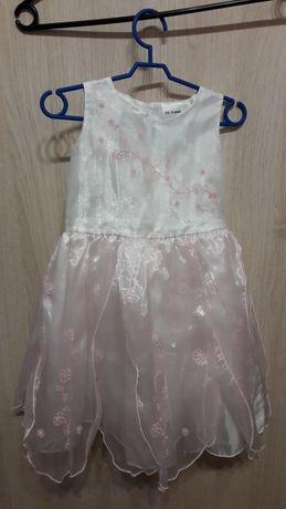 piękna sukienka na chrzest wesele imprezę ok. rozmiar 92
