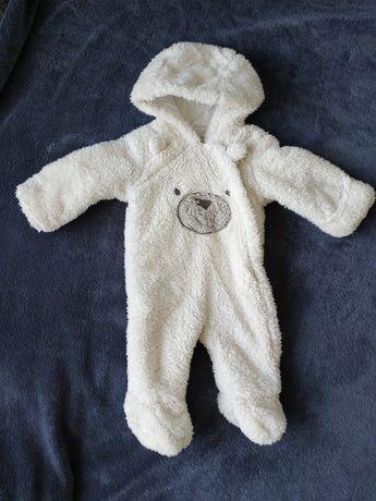Махровый теплый комбинезон человечек George 3 - 6 месяцев