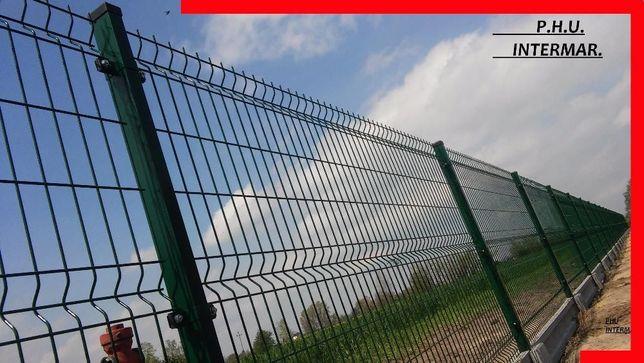 ogrodzenie PANELOWE panel 1.2m 1.3m 1.5m 1.7m fi5mm i fi 4mm