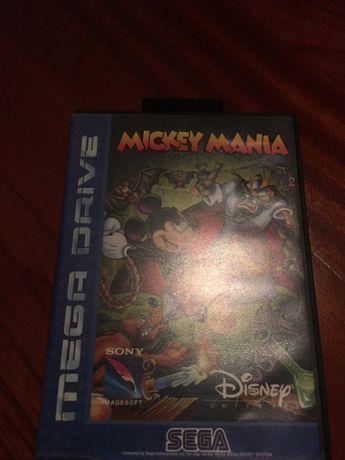 Sega Mega Drive MickeyMania completo