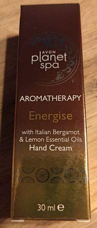 """Krem do rąk """"Aromaterapia"""" z bergamotką i cytryną Avon Planet Spa"""
