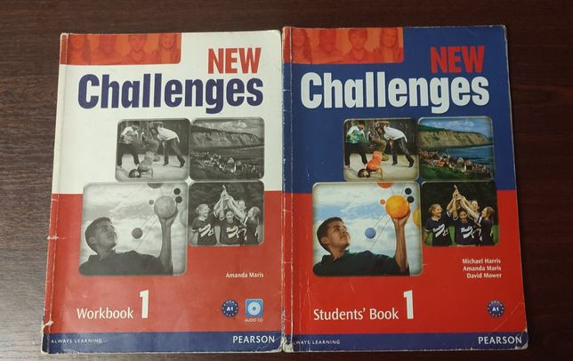 New Challenges 1 (Students' book + Workbook + диск)