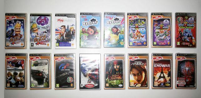 PSP - Vários Jogos e Acessórios - Consola Sony Playstation Portable