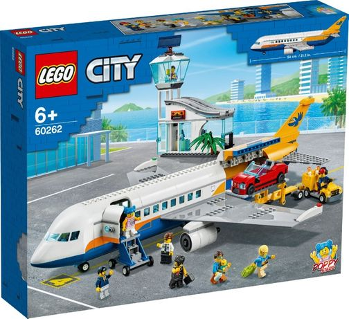Lego City Пассажирский самолёт 60262