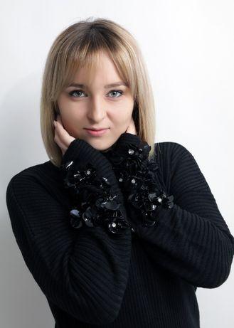 Красивый свитер черного цвета с оригинальными рукавами турция artistic