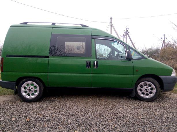 Продам авто Фиат Скудо 1998 г., 1.9 дизель, пассажир 8 мест, недорого