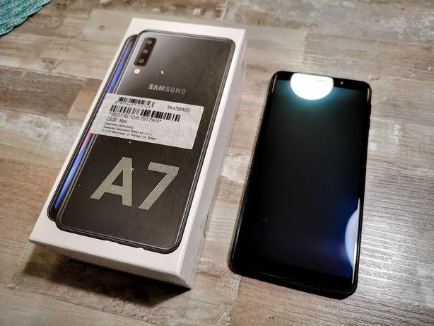 Samsung Galaxy A7 2018 stan perfekcyjny, praktycznie nieużywany