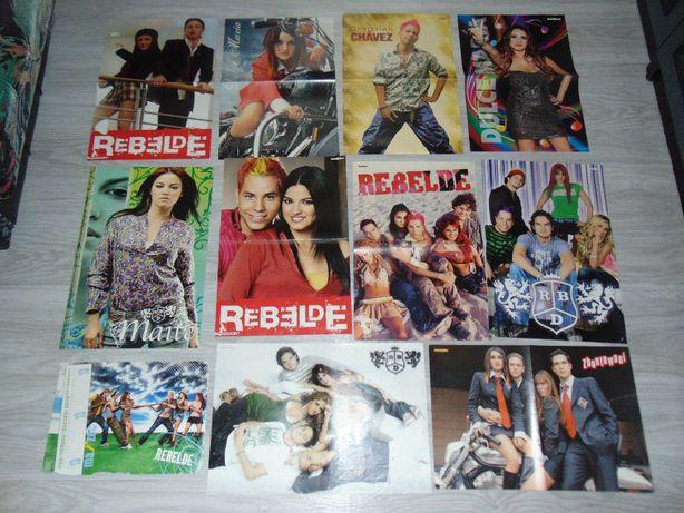 RBD Rebelde Zbuntowani plakaty