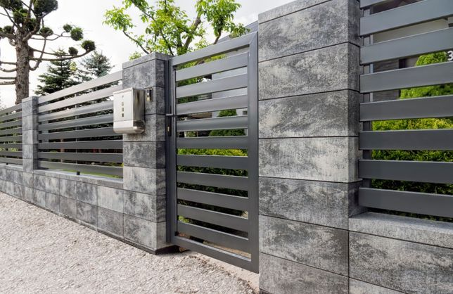 Ogrodzenie łupane modułowe JONIEC panel ogrodzeniowy, siatka leśna