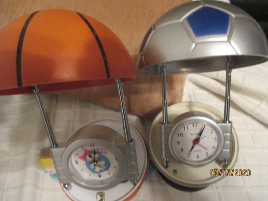 2 candeeiros/relógios secretária em formas de bolas Parque das Nações - imagem 1