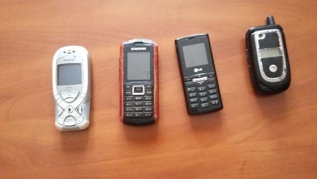 Telefony komórkowe.Cena za 4.
