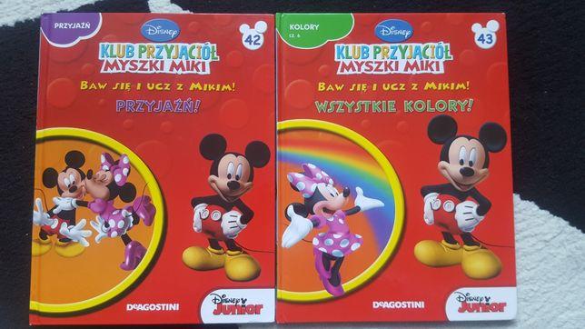2 książki Klub Przyjaciół Myszki Mickey
