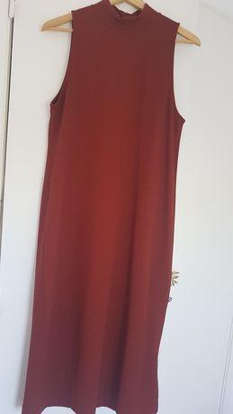 Vestido Tijolo Zara