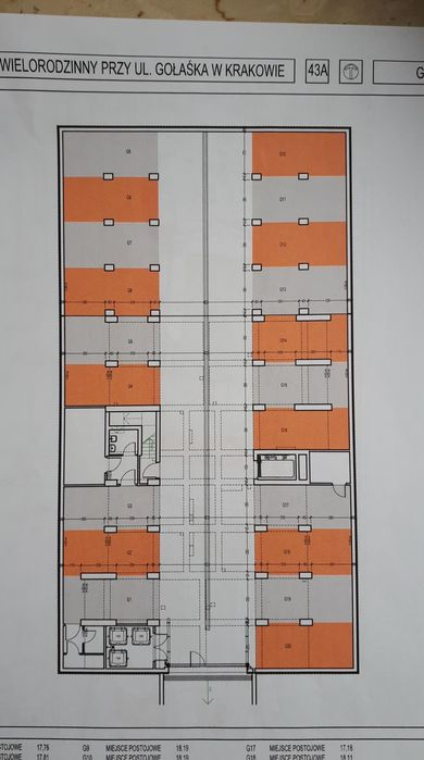 Garaż podziemny Kraków, ul. Gołaśka 43 Kraków - image 1