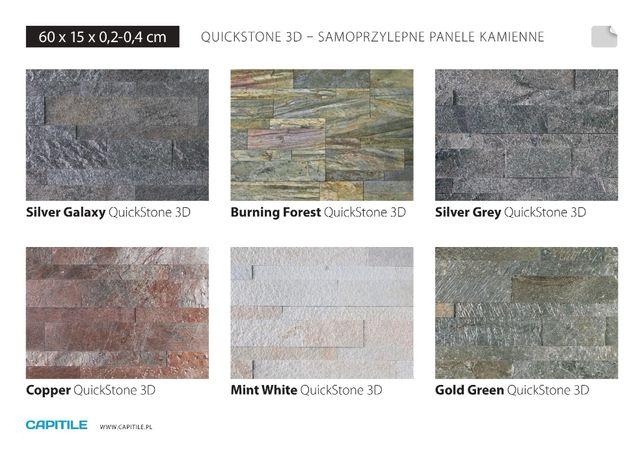 Panel ścienny samoprzylepny 3D Quick Stone Kamień dekoracyjny