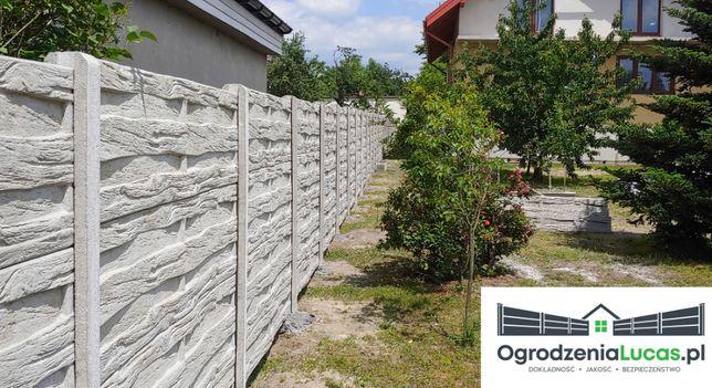 Montaż ogrodzeń betonowych, paneli, siatek, bram oraz furtek.