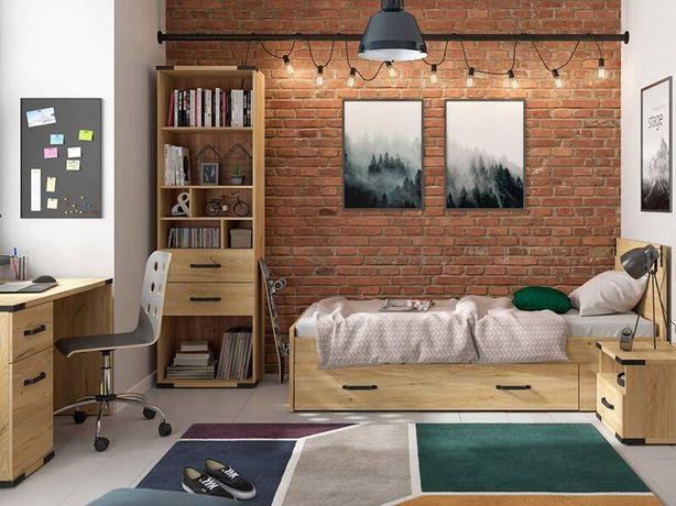 Детская комната кровать+ящик, стеллаж, тумба, стол. Доставка бесплатно