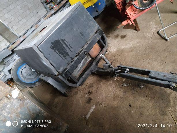 Kompresor śrubowy EcoAir F30 piaskowanie deutz, zestaw do piaskowania