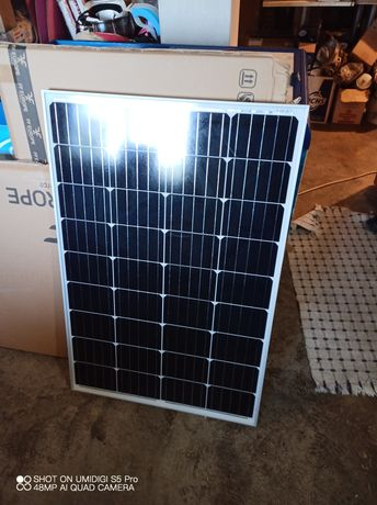 Solar kit 130w 12v+PWM 30A+10m cabo
