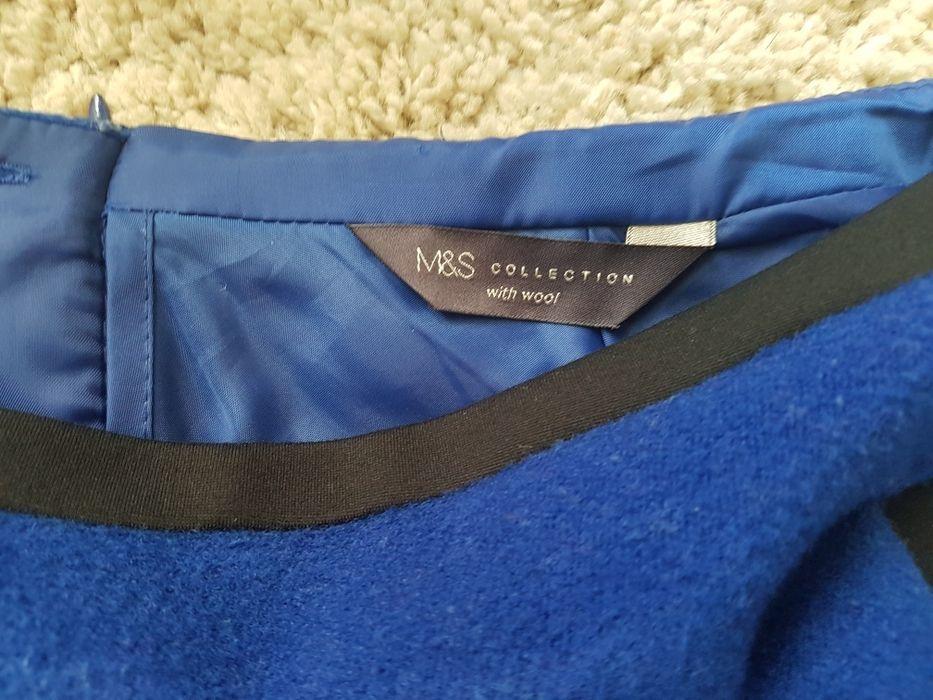 Chabrowa spódniczka M&S rozmiar 36 Węgorzewo - image 1