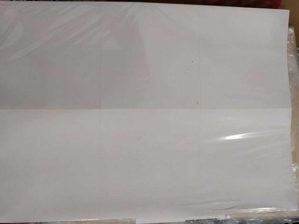 Наклейки А4 100 листов 6 наклеек на листе