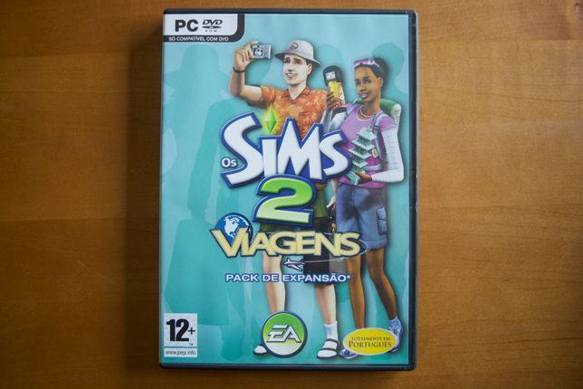 """Venda de jogo Os Sims 2 """"Viagens"""" Disco de Expansão"""