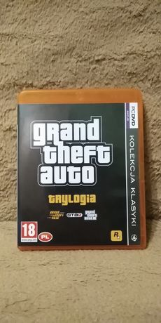 Grand Theft Auto Trylogia.