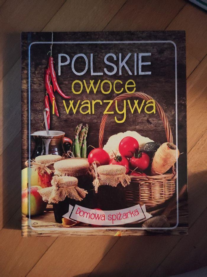 Książka kulinarna polskie owoce i warzywa Warszawa - image 1