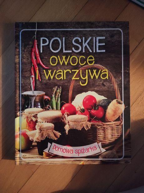 Książka kulinarna polskie owoce i warzywa