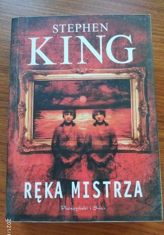 Książka Ręka Mistrza - Stephen King Tanio!