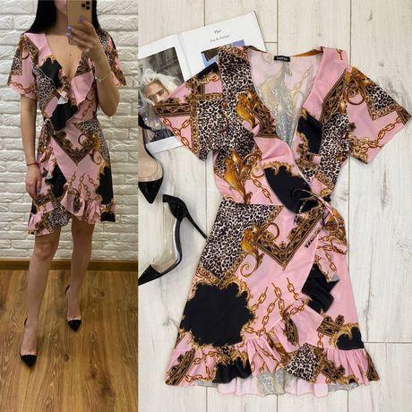Платье s zara mango guess