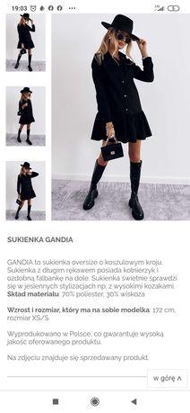 Sukienka cinamon nowa M/L