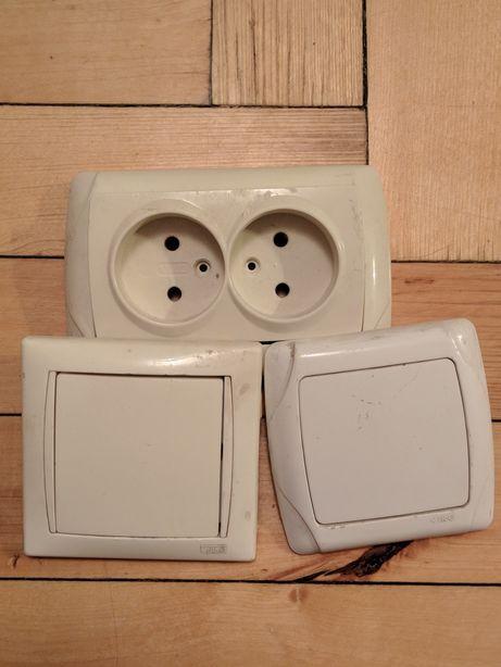 Продам 2корпуса под Выключатели + двойная розетка