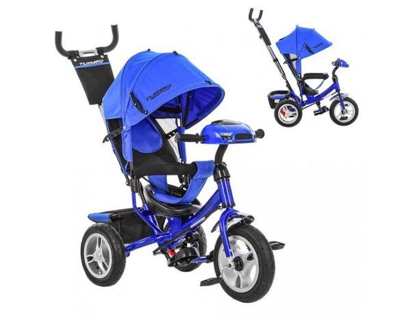 Продам трехколёсный велосипед со съемной родительской ручкой,рулём,фар