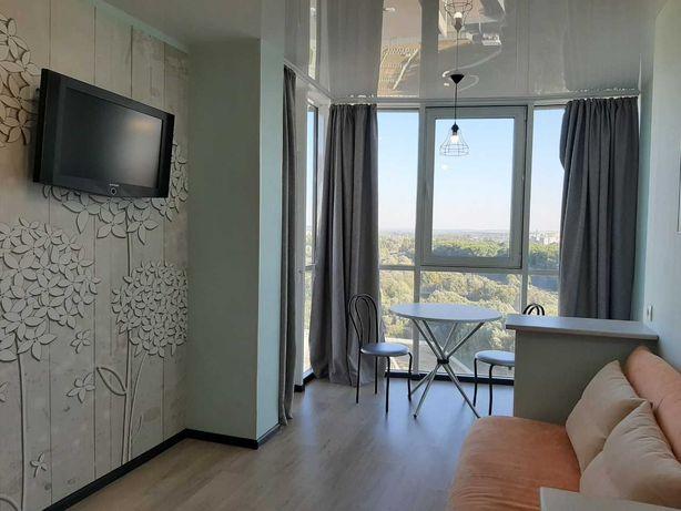 """1 кімнатна, ЖК """"Над Бугом"""" 16 поверх з панорамою. Вільна 5 листопада."""