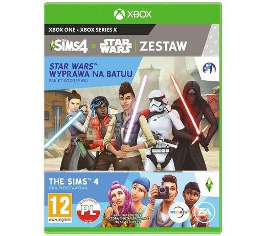Nowa Sims 4 + Wyprawa na Batuu na Xbox One Series X we folii Pl