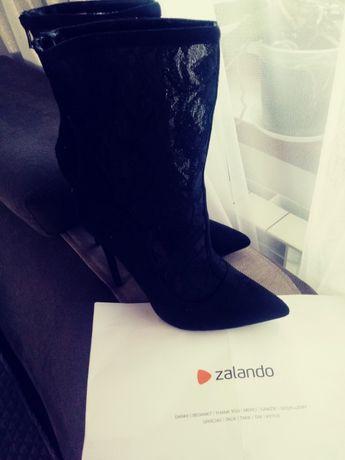 Nowe botki Lost ink z Zalando