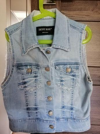 Kamizelka jeansowa Denny Rose, roz. S