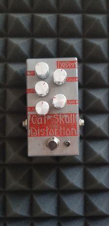 Devis Cat Skull Distortion przester efekt gitarowy