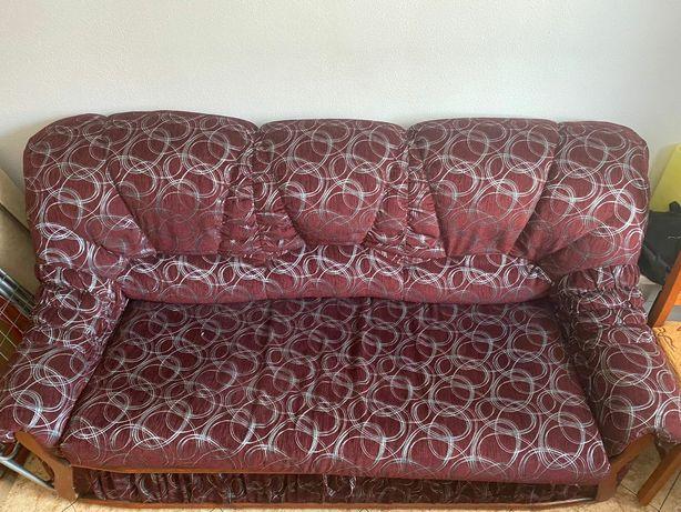 Sofa kanapa, łóżko tapicerowana dekoracje z drewna solidna