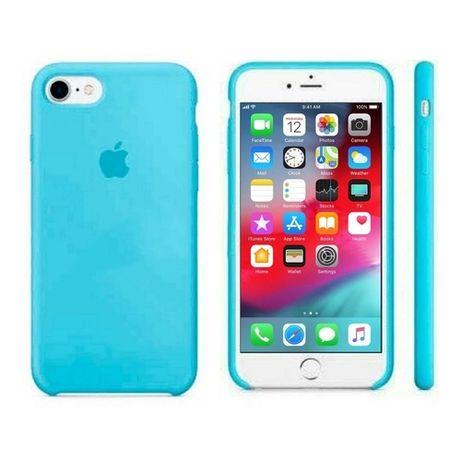 Etui silikonowe pokrowiec iphone 6s niebieskie